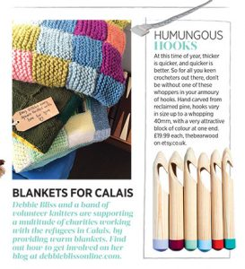 Love to knit and crochet magazine extract