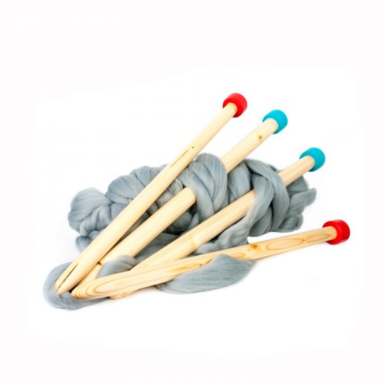 Jumbo Knitting Needles